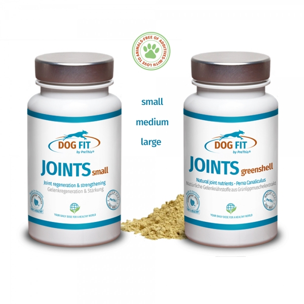 DOG FIT by PreThis® JOINTS und JOINTS greenshell