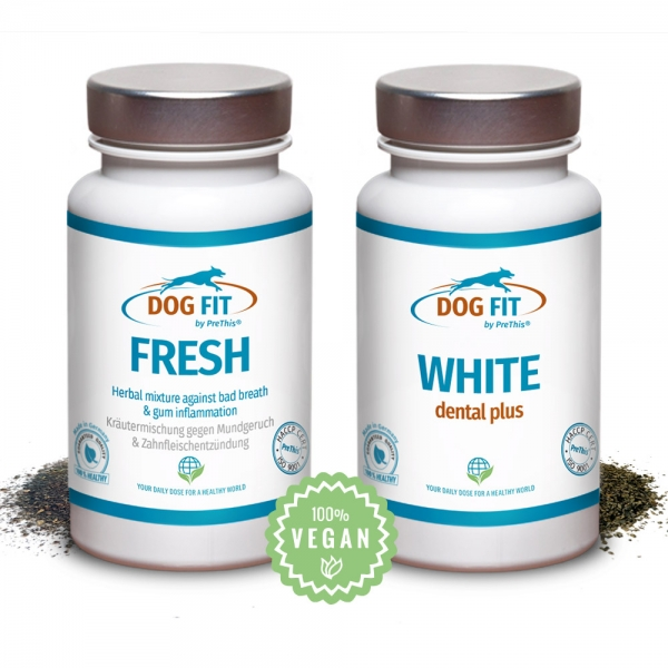 DOG FIT by PreThis® WHITE dental & FRESH