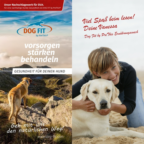 Das Buch über Hundegesundheit von DOG FIT by PreThis®