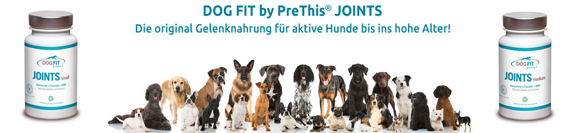 DOG FIT by PreThis JOINTS Gelenkmittel mit Glucosamin