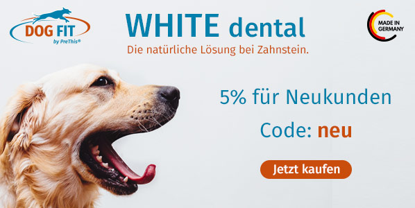 DOG FIT WHITE dental und Fresh Gutschein