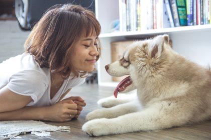 hund-frau-therapie
