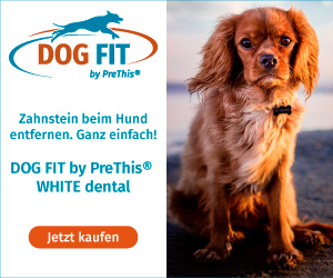 DOG FIT by PreThis® WHITE dental gegen Zahnstein