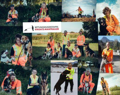 Einsatz-Mantrailer - Rettungshundestaffel