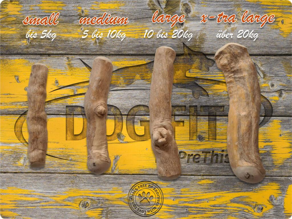 DOG FIT by PreThis Kauholz für Hunde in 4 Größen